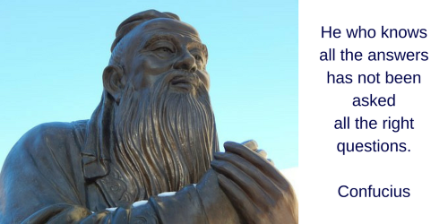 Quote van Confucius: